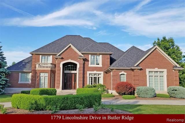 1779 Lincolnshire Drive, Rochester Hills, MI 48309 (#2200036351) :: BestMichiganHouses.com