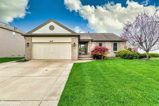 17892 Country Club Dr, Macomb Twp, MI 48042 (MLS #58050012274) :: The Toth Team