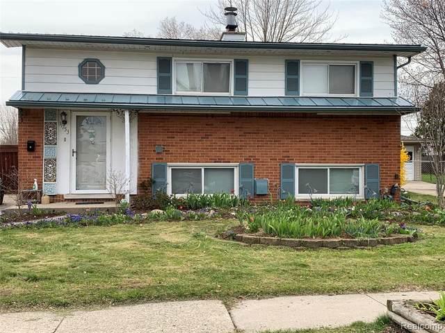 11753 Chattman Drive, Sterling Heights, MI 48313 (MLS #2200036406) :: The John Wentworth Group