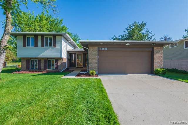43136 Ironsides Court, Canton Twp, MI 48187 (MLS #2200036515) :: The Toth Team