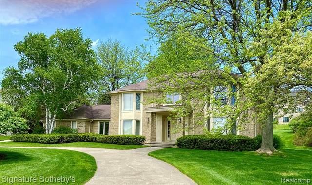 4169 Golf Ridge Drive E, Bloomfield Twp, MI 48302 (#2200036821) :: The Mulvihill Group
