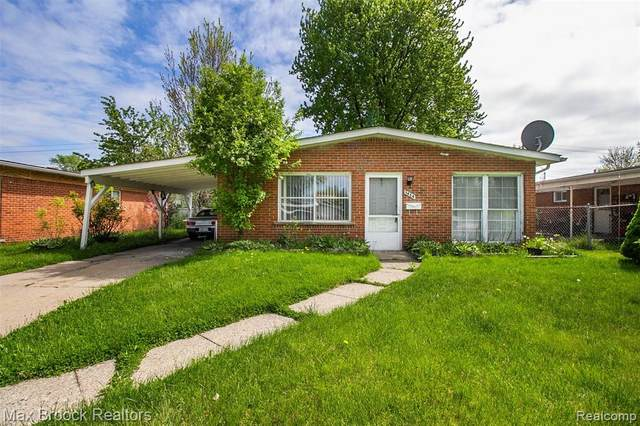 1654 Moulin Avenue, Madison Heights, MI 48071 (#2200036855) :: RE/MAX Nexus