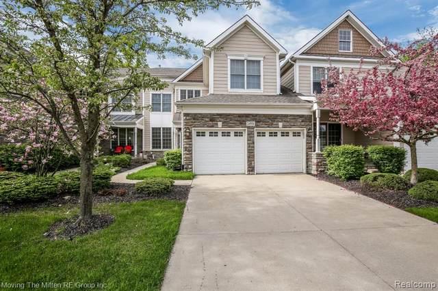 24906 Reeds Pointe Drive #47, Novi, MI 48374 (#2200036943) :: GK Real Estate Team