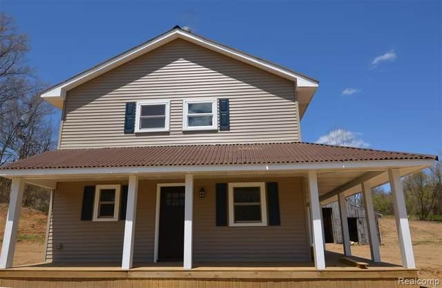 9860 Buckhorn Lake Road, Rose Twp, MI 48442 (#2200037002) :: The Alex Nugent Team | Real Estate One