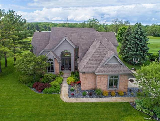 239 Prestwick Trail, Highland Twp, MI 48357 (MLS #2200037066) :: The John Wentworth Group