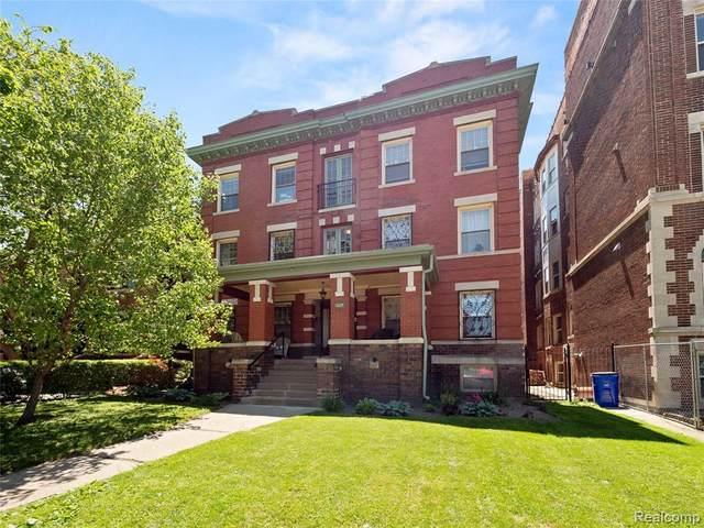 469 W Willis Street, Detroit, MI 48201 (#2200037067) :: RE/MAX Nexus