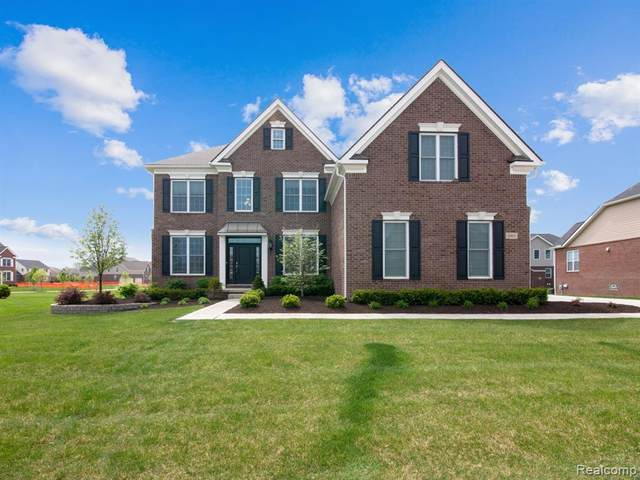 2092 S Pennfield Lane, Canton Twp, MI 48188 (MLS #2200037234) :: The Toth Team