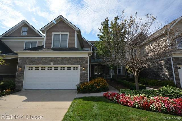 26028 Island Lake Drive, Novi, MI 48374 (#2200037374) :: The BK Agency