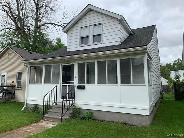 110 W Milton Avenue, Hazel Park, MI 48030 (#2200037413) :: RE/MAX Nexus