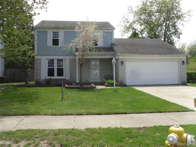 33670 Embassy St, Chesterfield Twp, MI 48047 (#58050012550) :: Alan Brown Group
