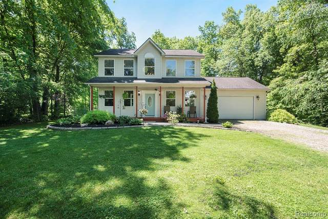 4366 Faussett Road, Deerfield Twp, MI 48855 (#2200037535) :: Alan Brown Group