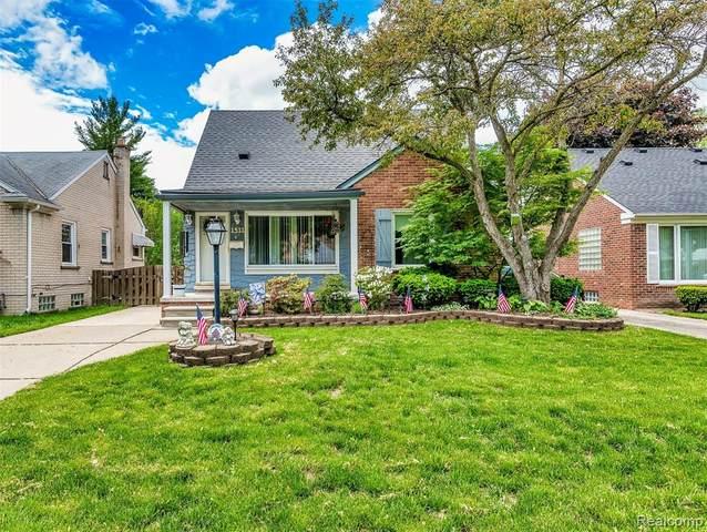 1511 N Silvery Lane, Dearborn, MI 48128 (#2200037546) :: The Alex Nugent Team | Real Estate One