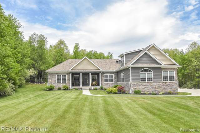 3491 Sheffield Drive, Oceola Twp, MI 48855 (MLS #2200037631) :: The John Wentworth Group