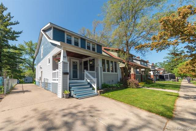 417 W Saratoga Street, Ferndale, MI 48220 (MLS #2200037639) :: The Toth Team