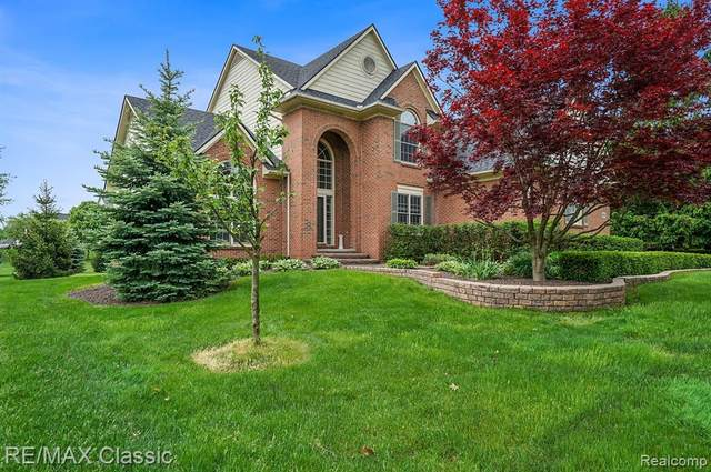 45671 Bristol Circle, Novi, MI 48377 (MLS #2200037820) :: The Toth Team