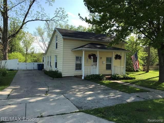 109 Railroad Street, Holly Vlg, MI 48442 (#2200037893) :: Keller Williams West Bloomfield