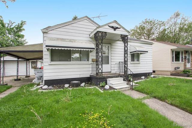 1512 E George Avenue, Hazel Park, MI 48030 (#2200037904) :: The Alex Nugent Team | Real Estate One