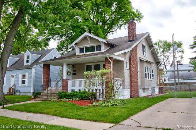 250 Channing Street, Ferndale, MI 48220 (MLS #2200038086) :: The Toth Team