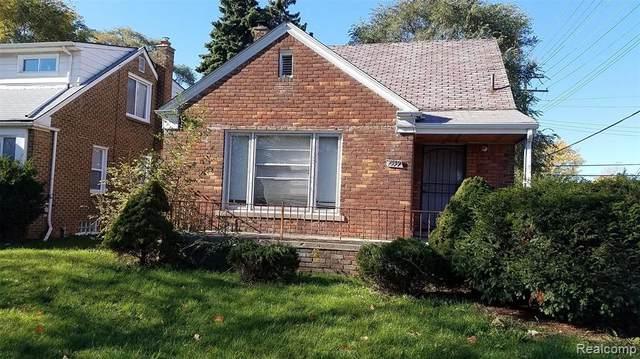 7559 Woodmont Avenue, Detroit, MI 48228 (MLS #2200038206) :: The John Wentworth Group
