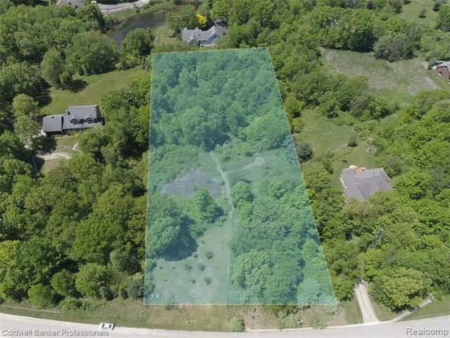 Lot 3 Oak Trail, Addison Twp, MI 48370 (MLS #2200038237) :: The John Wentworth Group