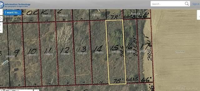0 Lasalle St.-Lot 15, Brockway Twp, MI 48097 (MLS #58050012751) :: The John Wentworth Group