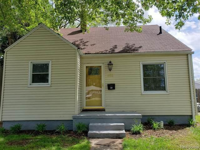 522 Dell Avenue, Flint, MI 48507 (MLS #2200038286) :: The John Wentworth Group