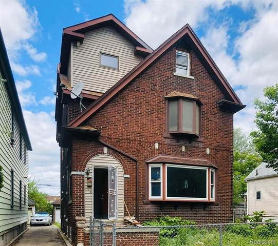 5151 Harold Street, Detroit, MI 48212 (MLS #2200038396) :: The Toth Team