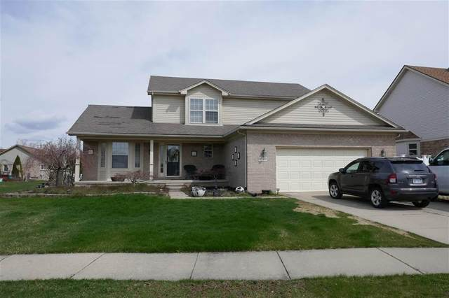 17588 Snapdragon, Brownstown Twp, MI 48173 (MLS #58050012824) :: The Toth Team