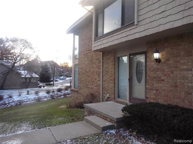 7363 Creek View Court #80, West Bloomfield Twp, MI 48322 (#2200038685) :: RE/MAX Nexus