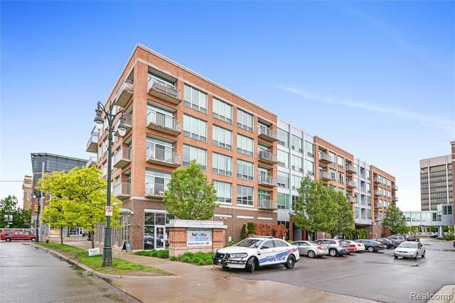 3670 Woodward Avenue #313, Detroit, MI 48201 (#2200038786) :: GK Real Estate Team