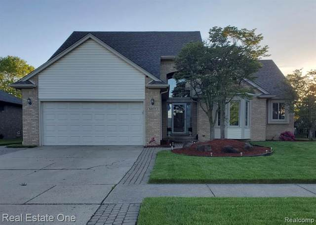 50777 Middle River Drive, Macomb Twp, MI 48044 (#2200039404) :: The Merrie Johnson Team