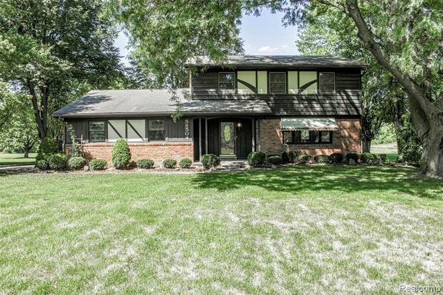 58504 Travis Road, Lyon Twp, MI 48165 (#2200039676) :: GK Real Estate Team