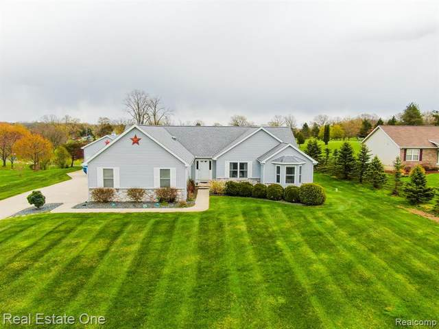 1840 White Cliff Drive, Oceola Twp, MI 48843 (MLS #2200039732) :: The Toth Team