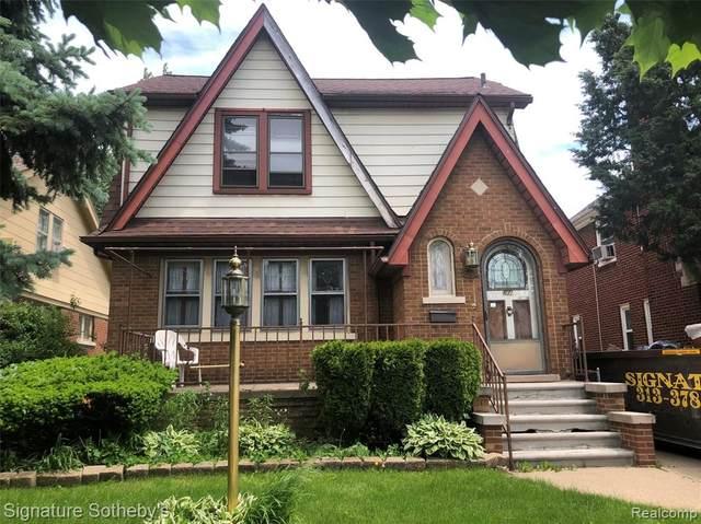 5950 Whittier St Street, Detroit, MI 48224 (#2200040035) :: GK Real Estate Team