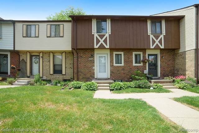 8512 Hickory Drive, Sterling Heights, MI 48312 (MLS #2200040156) :: The Toth Team