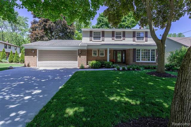 41418 Rayburn Drive, Northville Twp, MI 48168 (#2200040173) :: GK Real Estate Team