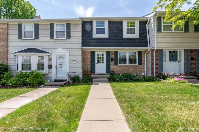 41327 Lagoon Court, Northville Twp, MI 48167 (#2200040816) :: GK Real Estate Team