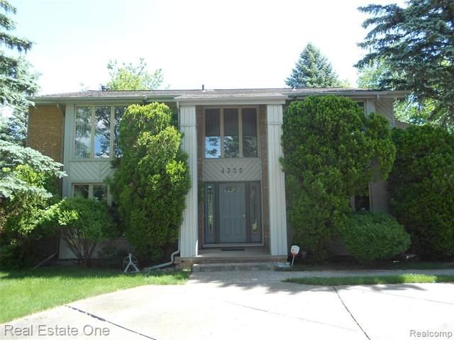 4325 Stoddard Road, West Bloomfield Twp, MI 48323 (#2200041059) :: GK Real Estate Team