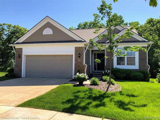 275 Bozeman Court, Howell, MI 48843 (#2200041756) :: The Mulvihill Group
