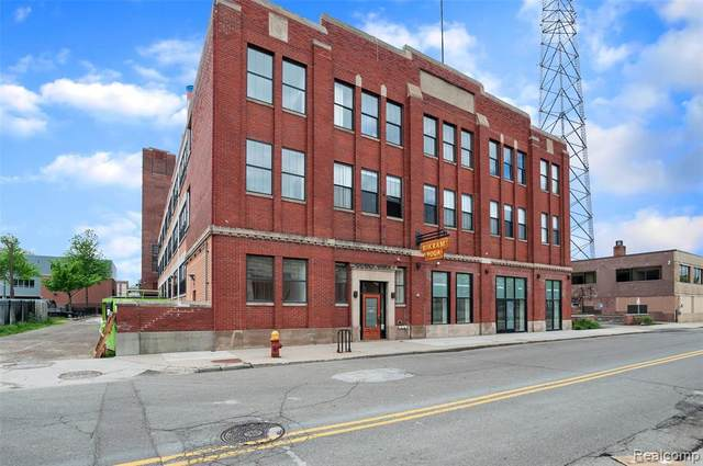 55 W Canfield Street #310, Detroit, MI 48201 (#2200041840) :: NextHome Showcase