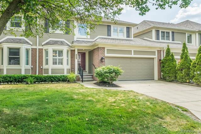402 Mountainview Drive #18, Northville, MI 48167 (#2200042018) :: GK Real Estate Team