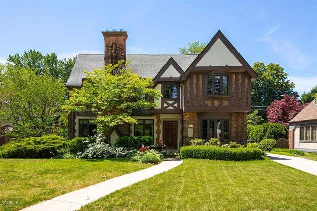 821 Trombley Rd, Grosse Pointe Park, MI 48230 (#58050014065) :: Novak & Associates