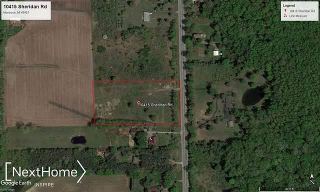 10415 Sheridan, Maple Grove Twp, MI 48457 (MLS #5050014284) :: The Toth Team