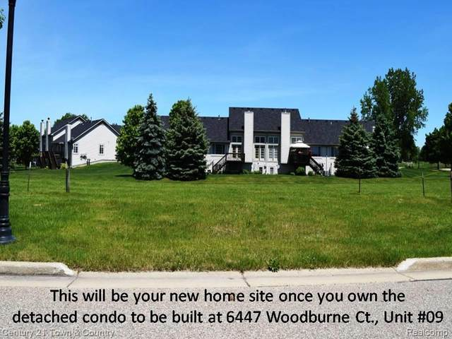 6447 Woodburne Court #9, Holly Twp, MI 48439 (MLS #2200043933) :: The John Wentworth Group
