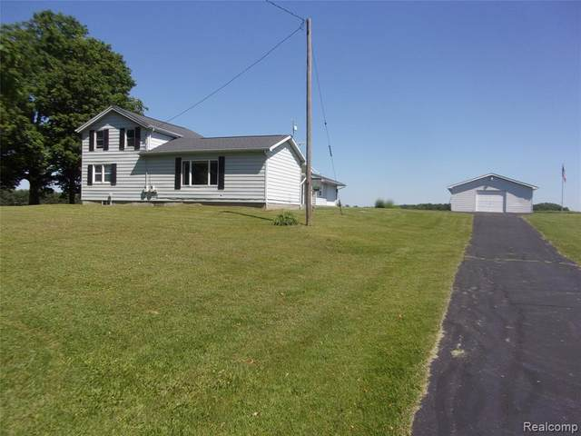 420 W Snover Road, Fremont Twp, MI 48744 (#2200044428) :: The Mulvihill Group