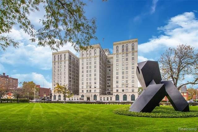 15 E Kirby Street #531, Detroit, MI 48202 (#2200045405) :: Duneske Real Estate Advisors
