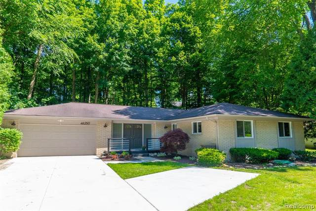 46250 Bloomcrest Drive, Northville Twp, MI 48167 (#2200046044) :: GK Real Estate Team
