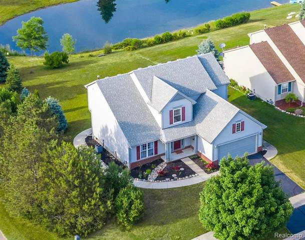 590 Boulder Lake Drive, Oxford Twp, MI 48371 (#2200046510) :: GK Real Estate Team