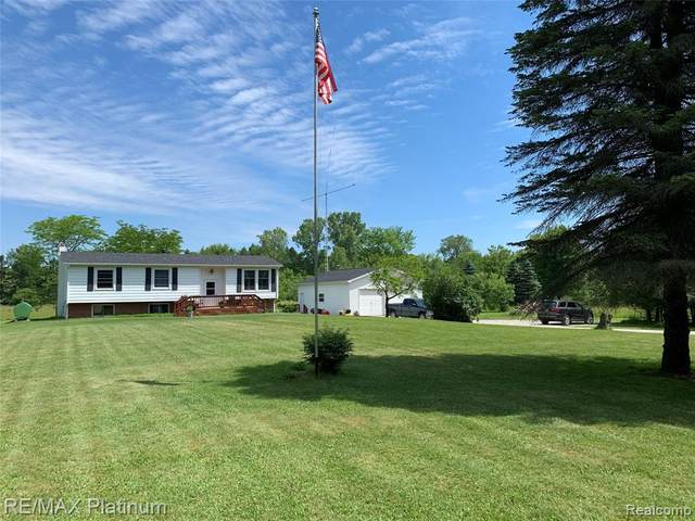 3919 Brophy Road, Howell, MI 48855 (MLS #2200046596) :: The John Wentworth Group