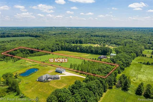 Parcel 4 Hagerman Road, Addison Twp, MI 48367 (#2200047291) :: The Mulvihill Group